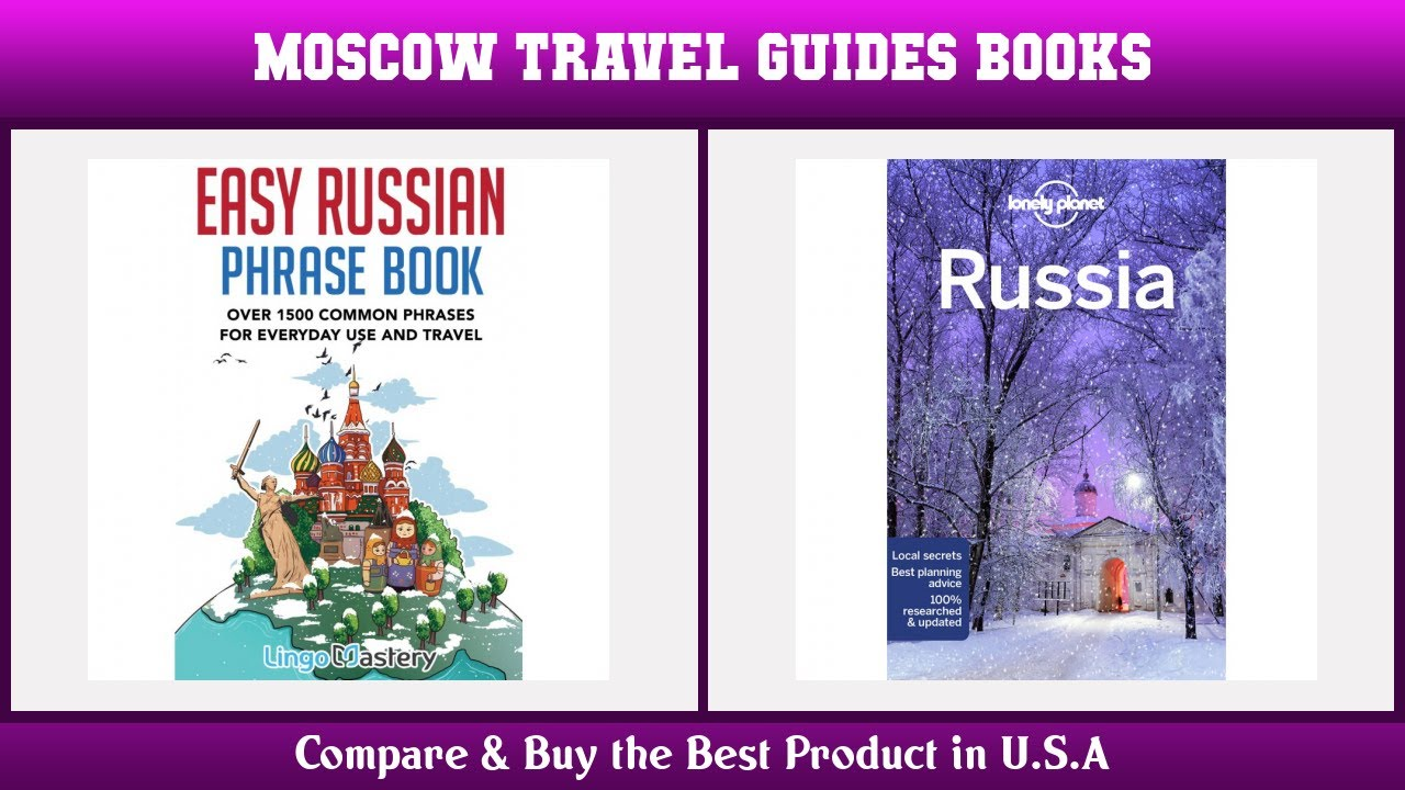 Top 10 Moscow Travel Guides Books to buy in USA 2021 | Price & Review
