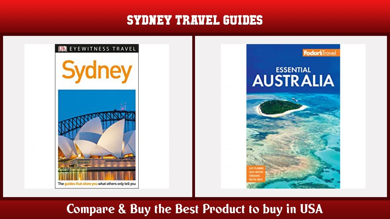 Top 10 Sydney Travel Guides to buy in USA 2021 | Price & Review